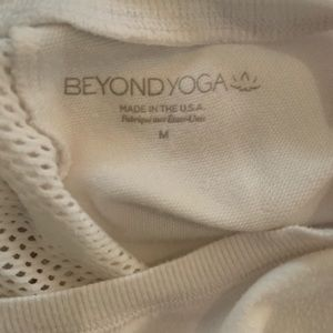 Beyond Yoga Tops - Beyond yoga  cozy sweatshirt with perforated back